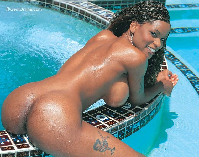 Beach Boobs Black - Ebony princess with big tits from gent busty models