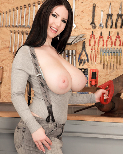 Tool Time With Busty Karina Hart